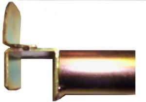 Soporte delantero con tope para tubo